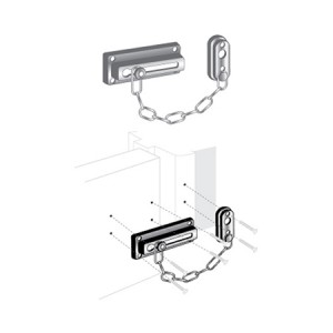 "Door Guard - Chain 3-5/8"" - EDL-110"