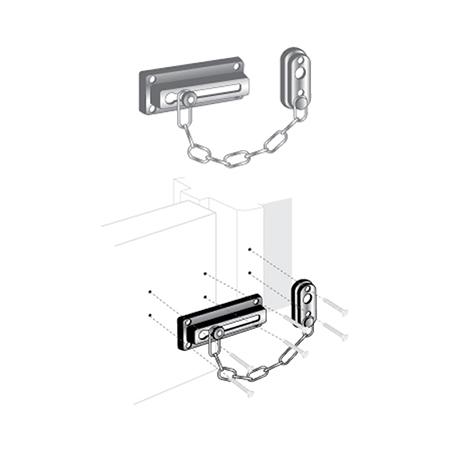 Door Guard Chain 3 5 8 Quot Pro Lok