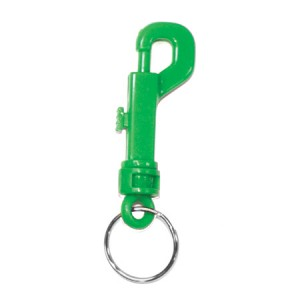 Colored Snap Key Chain