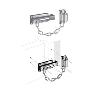 Door Lock Keyed Chain - EDL-130