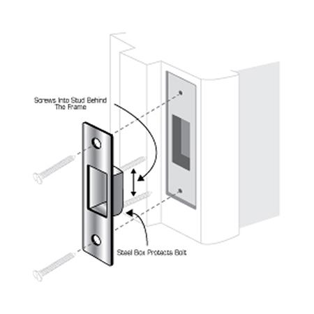 Door Security Hardware Door Strike Plate Door Reinforcer Page 13