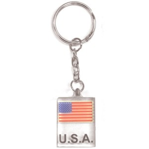 Small USA Key Chain