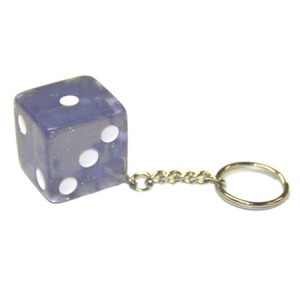 Jumbo Dice Key Chain