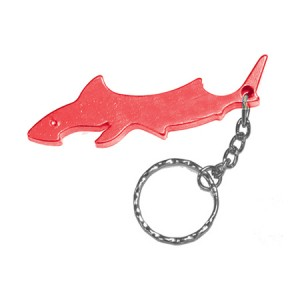 Shark Bottle Opener Key Ring