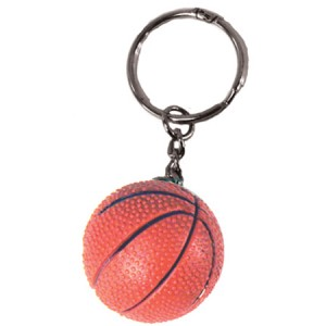Basketballl Key Ring