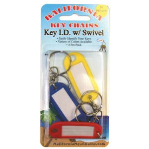 Key ID with swivel