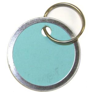 "1-1/4"" Colored Key Tag"