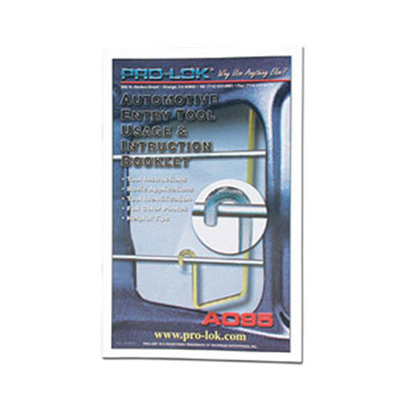 Tool Instruction Booklet Pro Lok