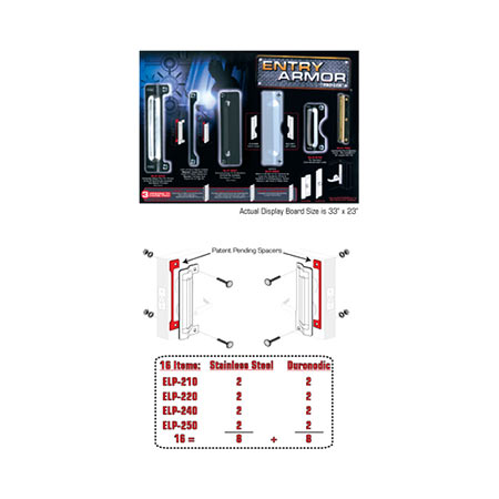 Latch Protector Display Board Promotion Pro Lok