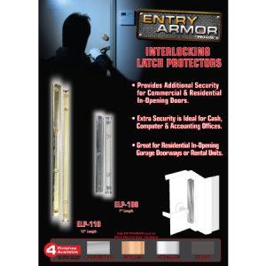 EZDISP-04: Entry Armor Interlocking Latch Protector Display Board