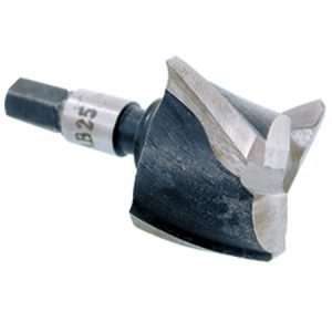 "INJIGC-MORT-CNAB25: 1"" Aluminum Cutter for Mortise Installation"
