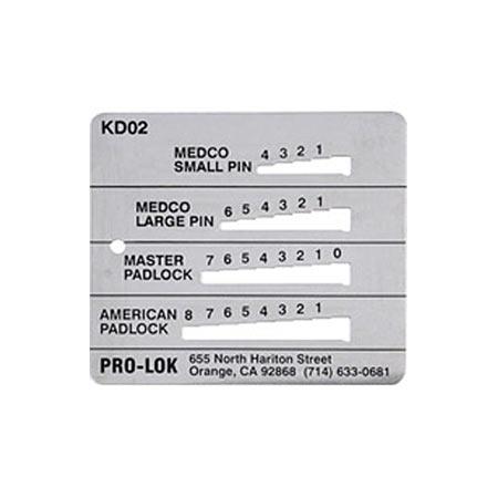Key Decoder Medeco Master Amp American Pro Lok