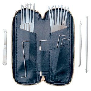 PKX20: 20 pc Pick Set and Case