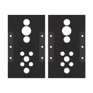 Schlage L Series Template Set
