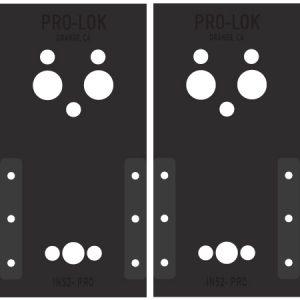 IN52-PRO: Schlage Locknetics Installation Template Set
