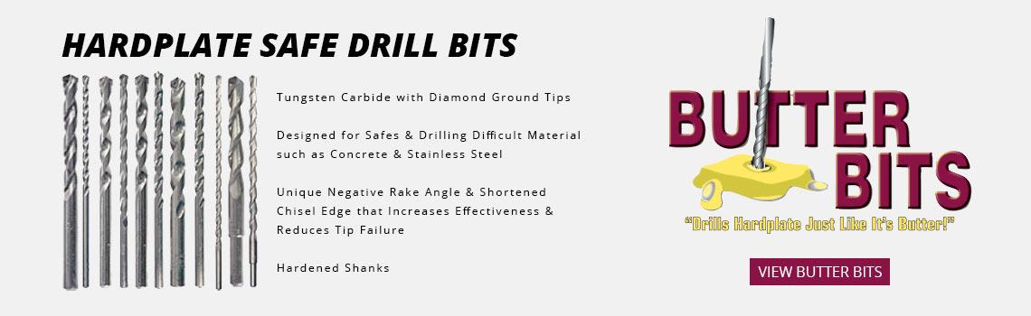 Hardplate Safe Drill Bits