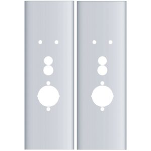 Flat Plates for Alarm Lock Trilogy