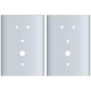 EWP-IN640-MORT-FP: Kaba E-Plex 2000 Series Mortise Flat Plate Set