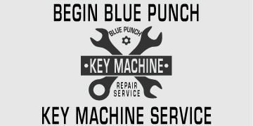 Blue Punch Key Machine Service